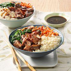 Korean Barbeque Rice Bowl