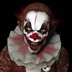 The clown from your nightmares. | 15 Types Of Stock Photo Clowns That Will Haunt Your Dreams