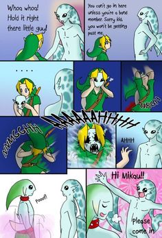Nintendo logic once again (but we all secretly love it) plus the terrifying mask transformation!!! O.o geh, nightmares!