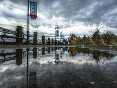 The Pier In Fall, West Vancouver | Mark Faviell, Flickr
