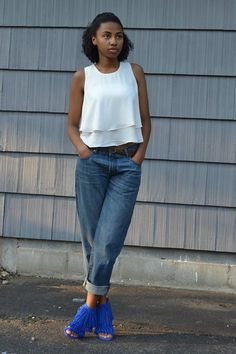The top is really from Marshals and my jeans are really from GAP @Glamhive where you get rewarded for shopping! http://www.glamhive.com/look/5603fad8e4b08f9877b2ffa7