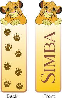 Children books: Bookmarks to print-Lion king Simba Lion King Book, Lion King Poster, Lion King Theme, Lion King Simba, Disney Lion King, Disney Bookmarks, Cute Bookmarks, Printable Bookmarks, Printables