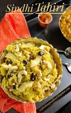 Veg Indian Cooking: Sindhi Tahiri Indian Desserts, Vegan Desserts, Indian Food Recipes, Indian Sweets, Sweets Recipes, Snack Recipes, Cooking Recipes, Snacks, Easy Sesame Chicken