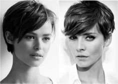 corte pixie 2 Short Hair Cuts, Short Hair Styles, Pixie Cuts, Brunette Pixie, Hair Dos, Style Me, Beauty, Hairstyles, Nice