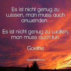 #spruch #sprüche #weisheit #zitate #sprüchearchiv #facebook #leben #goethe