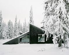 vardehaugen's cabin vindheim in norway appears to be buried...