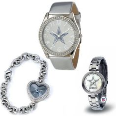 Dallas Cowboys Women's Watch