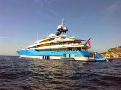 Awesome yacht