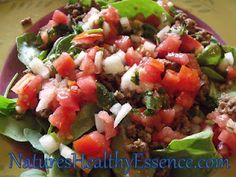 Nature's Healthy Essence: Mexican Salad
