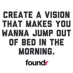 A good vision is a fundamental necessity to attaining a meaningful and fulfilling life.