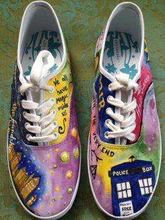 painted kid cudi custom vans shoes on etsy 219 99