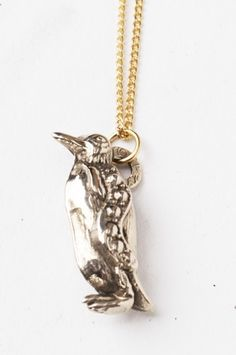 Penguin Charm Necklace - Featured Goods   Uncovet