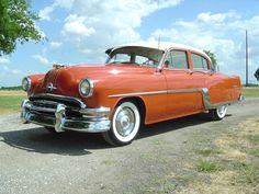 1954 Pontiac Chieftain Starchief Special 8 268 mortor - my first car!