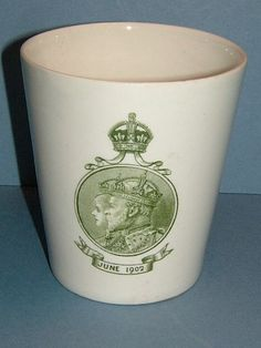 Stunning Royal Doulton 1902 Commemorative Beaker by BiminiCricket, $45.00. This is in my collection.