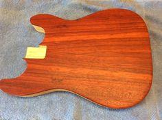 Custom  Strat Style Acoustic Guitar Body Cbg Style Build.   eBay