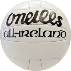The famous O'Neills GAA All Ireland Football Irish Culture, Keep Fit, Super Sport, Childhood Memories, Volleyball, Soccer, Football, Cakes, Real Men