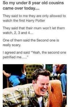 "This joke even adults find funny. | 22 ""Harry Potter"" Puns.... HYSTERICAL. Go read them."