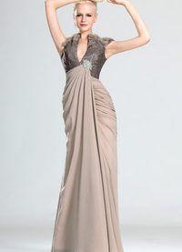 秋季平均护套垂褶丝绸连衣裙