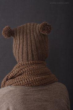 Owl hat. crochet by hand from Light brown alpaca yarn  https://www.etsy.com/uk/shop/KnockKnockLinen?section_id=13224377