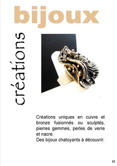 page e-mag sur les créations www.regart-sur.com