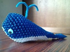3D Origami - Blue Whale