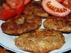 Fotorecept: Kalerábovo-chlebové placky