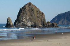 Haystack rock, Cannon Beach up next