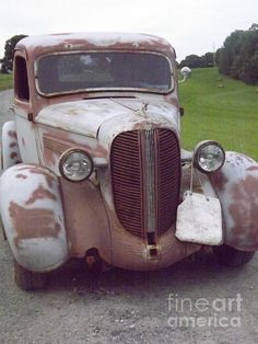 old car. Can you imagine the history. Oh the things it's seen...