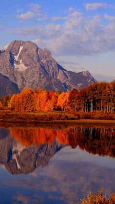 Autumn, Ox Bow Bend, Snake River, Mt. Moran, Grand Teton National Park, Wyoming