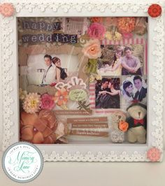 ... DIY Scrap Frames on Pinterest Ideas for gifts, Scrap and Diy wedding