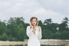Brautmode Hochzeitskleid Boho Vintage Hippiehochzeit #braut2016 #hochzeit2016