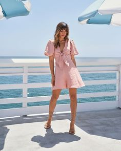 Romper Cute Dresses, Casual Dresses, Summer Dresses, Women's Dresses, Short Long Dresses, Rompers, Clothes For Women, Style, Sleeve