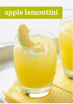 10 Cocktail Recipes – Shake things up with cocktail recipes that range from classic concoctions to fun and fruity. Party Drinks, Cocktail Drinks, Fun Drinks, Alcoholic Drinks, Beverages, Mixed Drinks, Sangria Recipes, Cocktail Recipes, Wine