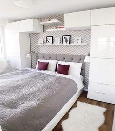 Schlafzimmer in Weiß: Ideen wie der Raum freundlich und hell wirken kann