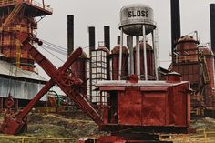 We attempted to go in this place on our road trip.. Super creepy though.  Haunted Sloss Furnace in Birmingham, Al.
