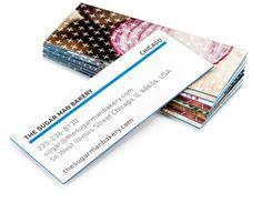 Luxe-MiniCards von MOO   Mini-Visitenkarten von Premium-Qualität