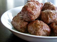 Kittencals Italian Melt-In-Your-Mouth Meatballs - I have used Kittencals recipes for years, never let me down, always delicious.