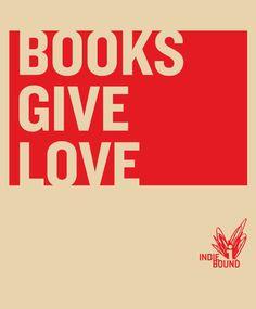 BOOKS GIVE LOVE