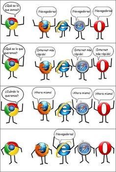 [Humor] El pobre #InternetExplorer...