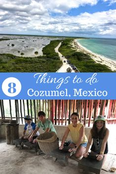 8 things to do in Cozumel with kids or without including culture, day clubs, adventure, and more. Plus, tips on where to stay! Mexico Travel, Spain Travel, Mexico Vacation, Stuff To Do, Things To Do, Beach Trip, Hawaii Beach, Oahu Hawaii, Cozumel Mexico
