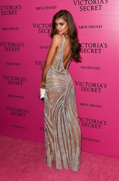 Taylor Hill attending the Victoria's Secret Fashion Show After Party in Shanghai on November 20, 2017.