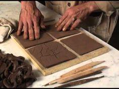Ceramic Tile Making by johnwhitmarsh Ceramic Tile Art, Clay Tiles, Ceramic Clay, Ceramic Pottery, Art Tiles, Ceramic Decor, Ceramic Techniques, Pottery Techniques, Handmade Tiles