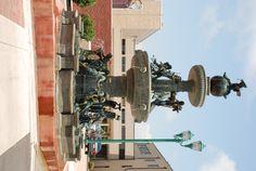 City Plaza Fountain in good 'ol Clarksville Tn