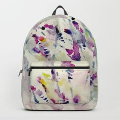 Floral Impression / Meadow Scatter Backpack by rsstudio Girl Power, Fashion Backpack, Back To School, Backpacks, Flower, Girls, Bags, Stuff To Buy, Accessories