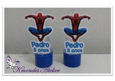 Tubete 8 cm Homem Aranha