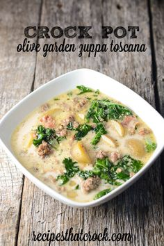 Olive Garden Zuppa Toscana Recipe: