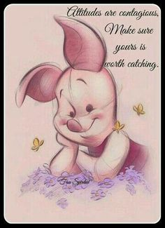 Winnie the pooh Winnie The Pooh Quotes, Winnie The Pooh Friends, Piglet Quotes, Winnie The Pooh Drawing, Piglet Winnie The Pooh, Disney Tatoo, Eeyore, Tigger, Disney Love
