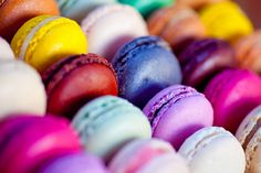 Easter Potluck Recipe: Raspberry French Macarons - Eating Our Words