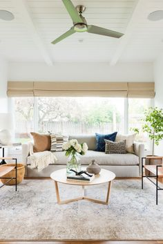 neutral living room decor