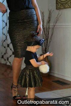 Madre e hijas  Una tendencia fashion